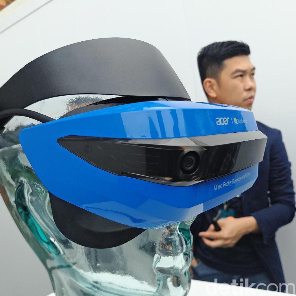 Acer Mixed Reality, Teknologi VR dan AR di Satu Perangkat
