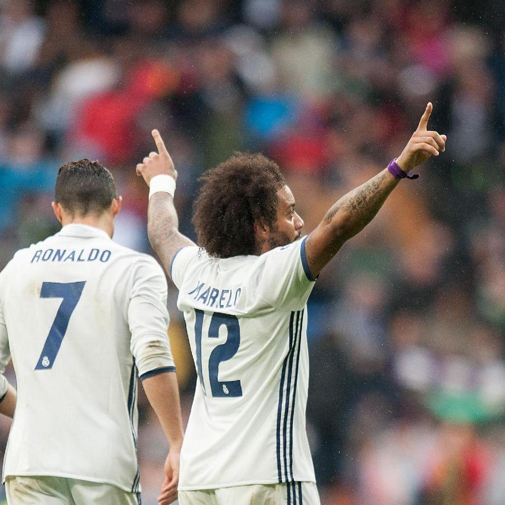 Buah Kerja Keras dan Kegigihan Madrid