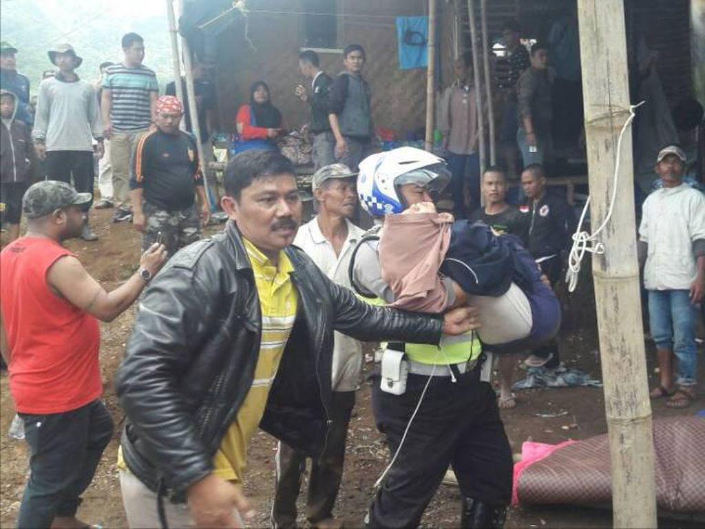 Korban Luka di Ciloto Berjumlah 20 Orang, Dilarikan ke RS Cimacan