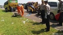 Satu Keluarga Tewas Kecelakaan di Tol Palikanci Cirebon
