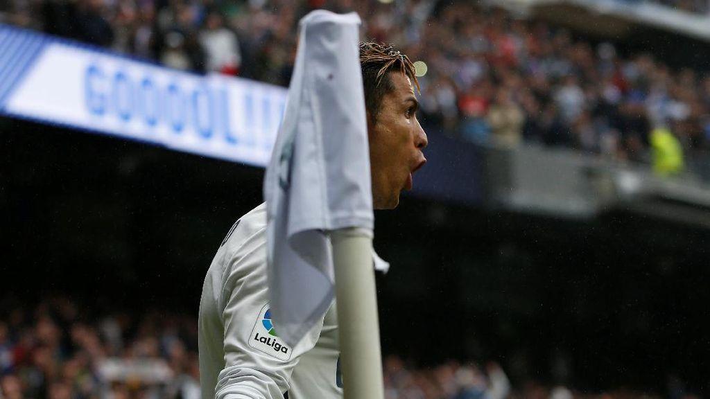 Ronaldo Jadi Atlet Pertama dengan 100 Juta Pengikut