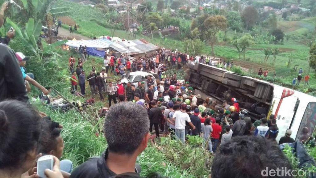 Insiden Kecelakaan Puncak, Pemerintah Diminta Awasi Ketat PO Bus