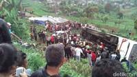 Kemenhub akan Beri Sanksi ke Pihak Penyebab Kecelakaan di Ciloto