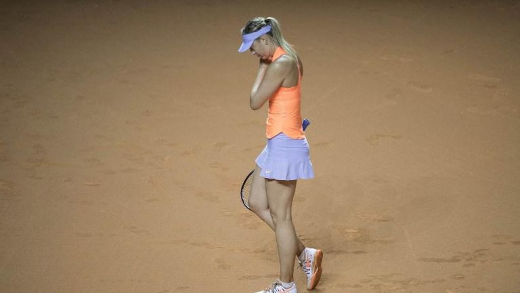 Aksi Comeback Sharapova Dihentikan Mladenovic