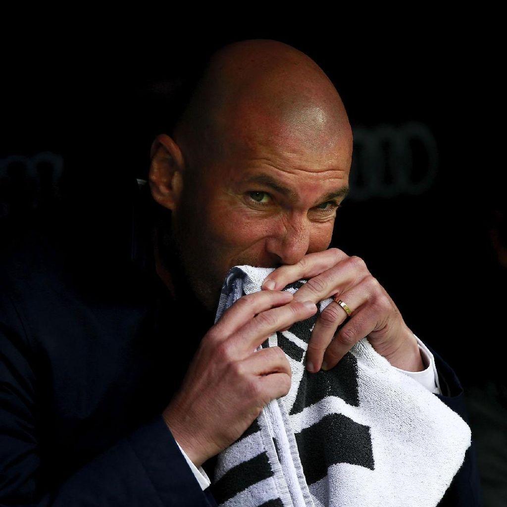 Zidane Akui Madrid Kurang Efisien