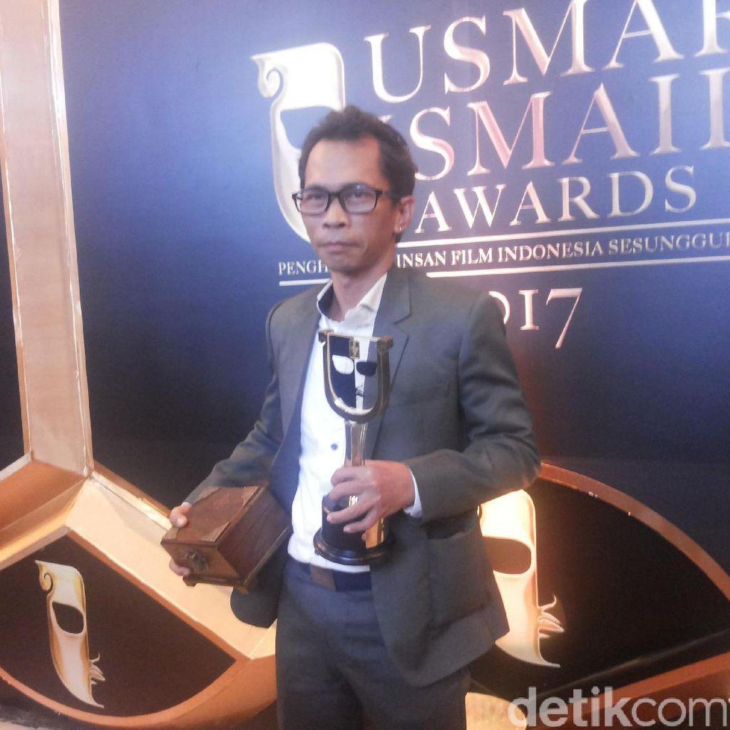 Sabet Aktor Terbaik, Gunawan Maryanto Persembahkan Piala untuk Wiji Thukul