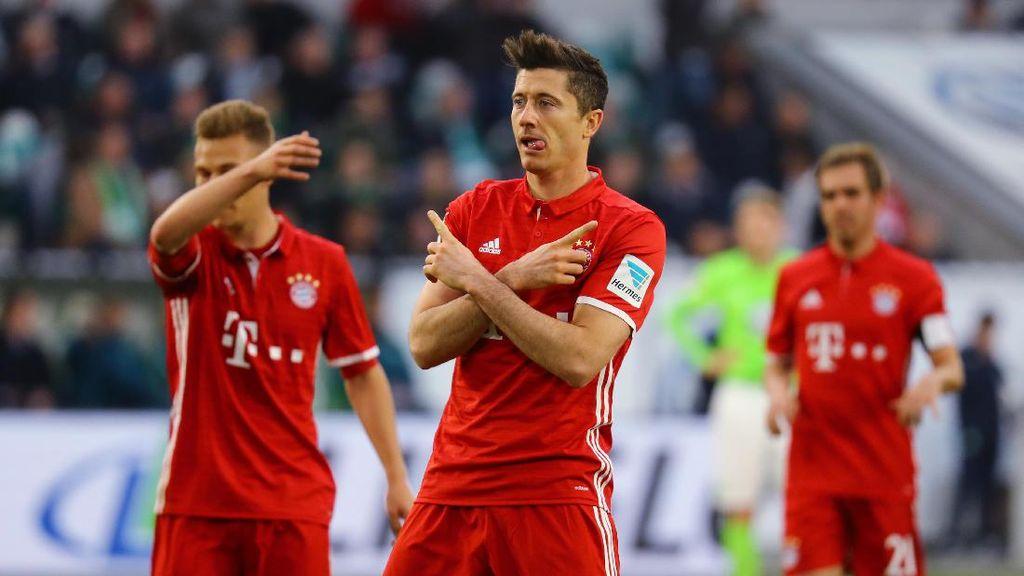 Bayern Munich Juara Liga Jerman 2016/2017!