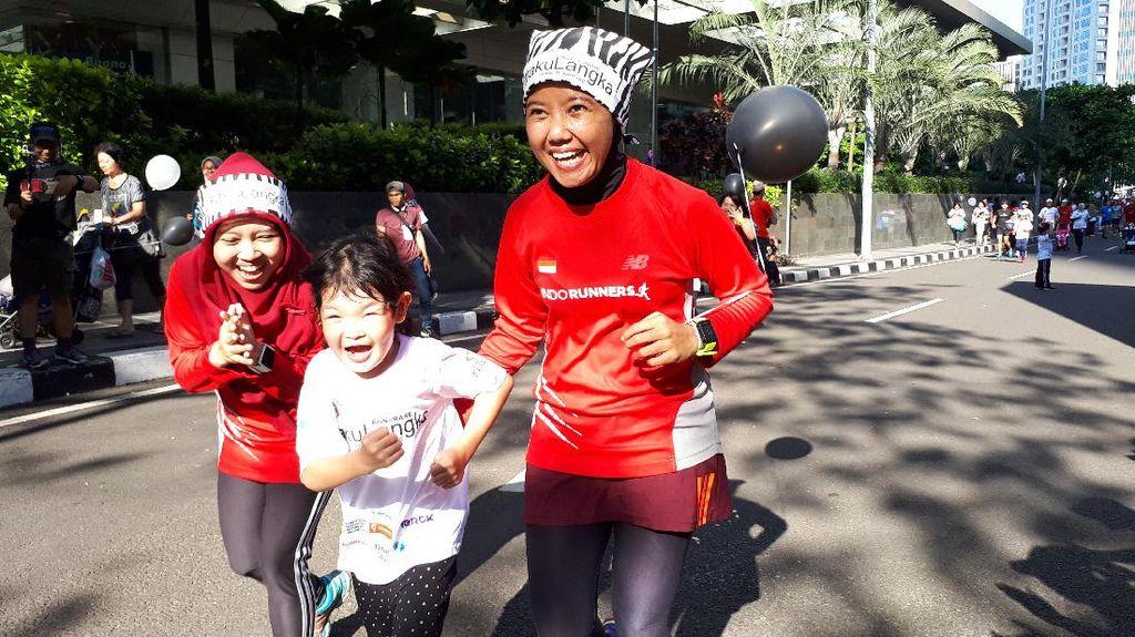 Ketika Anak-anak dengan Kondisi Langka Lari Bareng IndoRunners