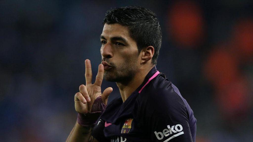 Sudah Bikin Gol Lagi, Suarez Tegaskan Misi Barca untuk Terus Menang