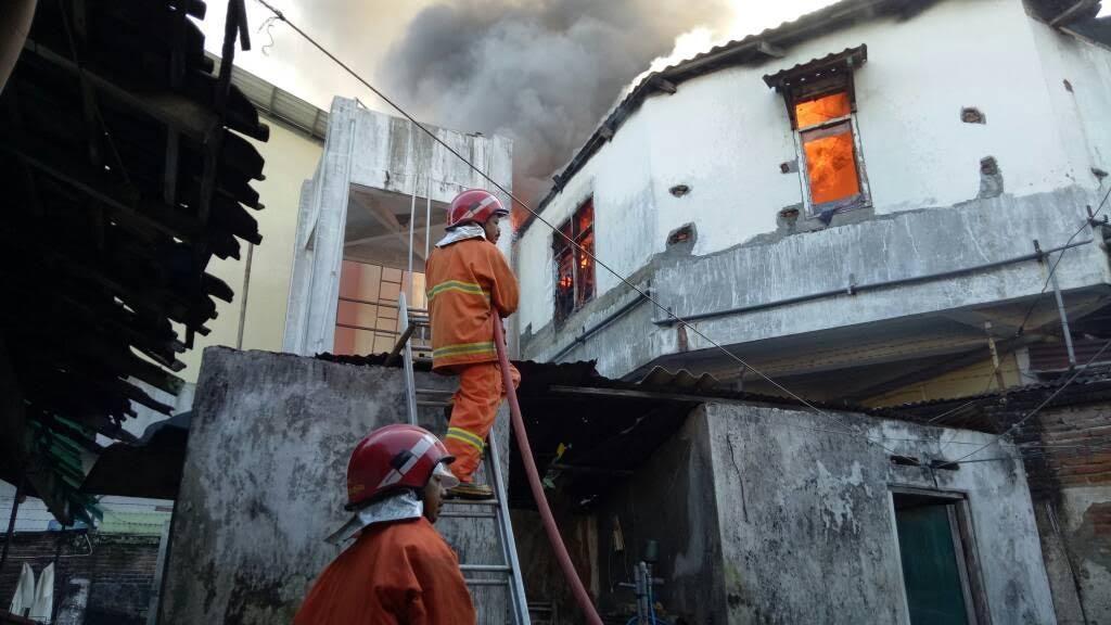 Kebakaran di RS Bhayangkara Kota Kediri, Sempat Terjadi Kepanikan