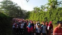Ribuan Buruh di Magelang Peringati May Day dengan Jalan Sehat