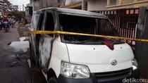 Mobil Pengangkut Bensin di Garut Terbakar