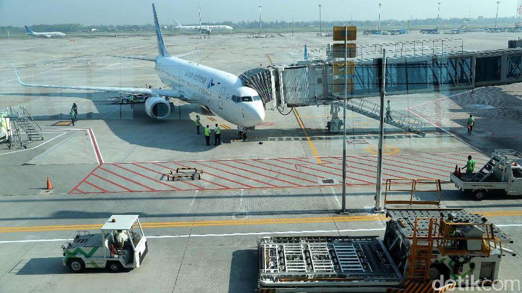 PT AP II Beri Insentif Extra Flight Maskapai yang Layani Mudik