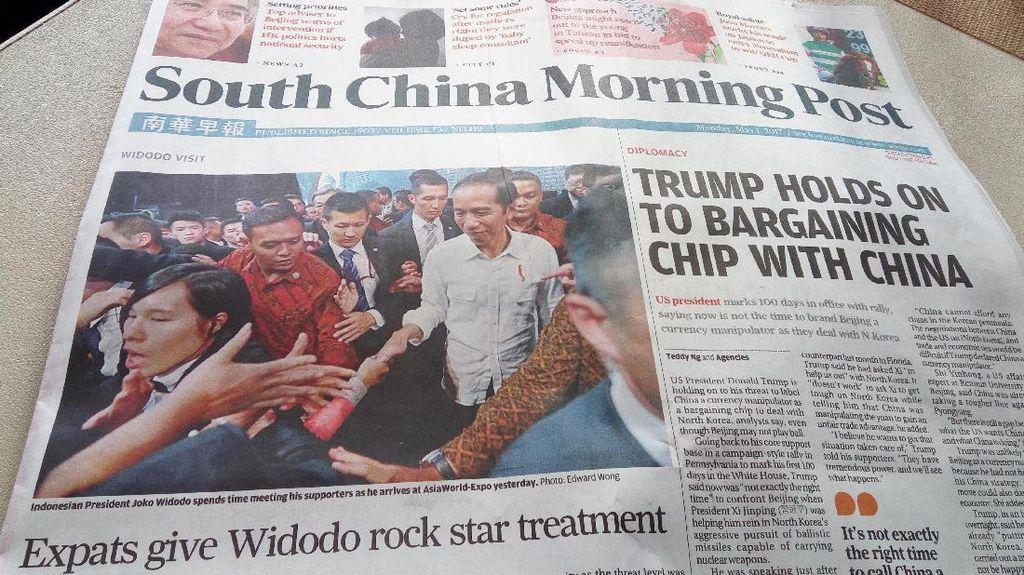 Kedekatan Jokowi dan Buruh Migran yang Jadi Sorotan Media Hong Kong