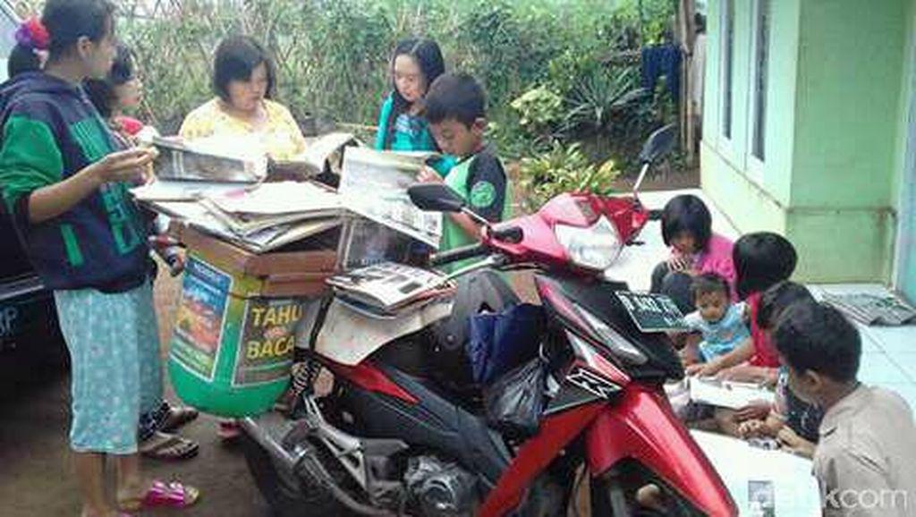 Jadi Pegiat Literasi, Dua Warga Kabupaten Bandung Diundang Jokowi ke Istana