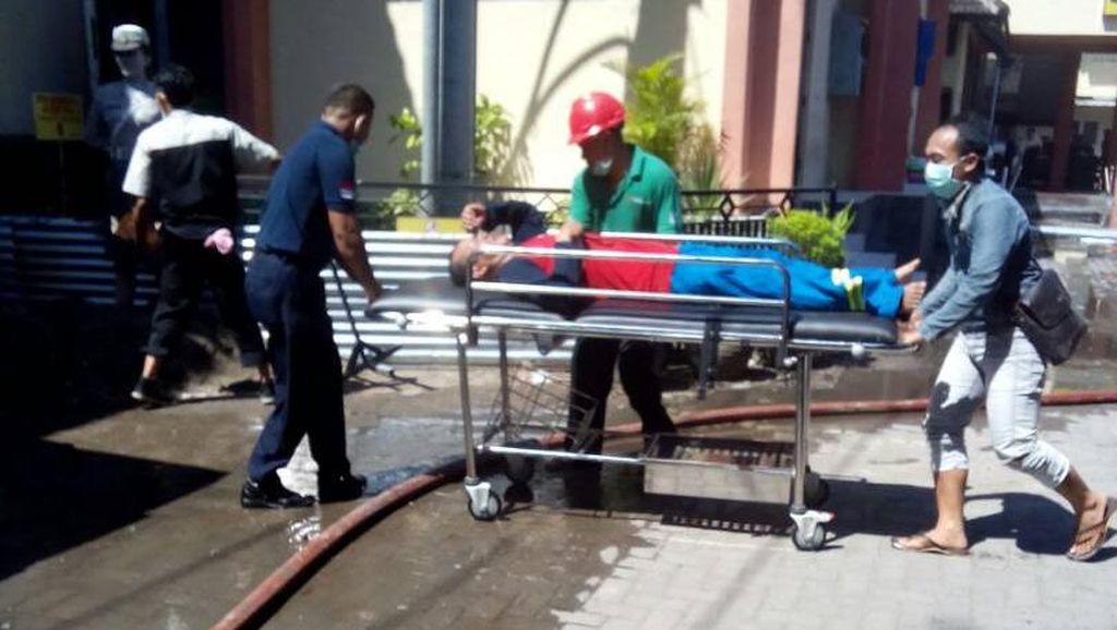 Polisi Selidiki Kebakaran di RS Bhayangkara Kediri