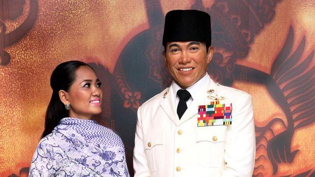 Patung lilin Bung Karno (Madame Tussauds)