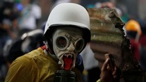 Aksi Para Pendemo Venezuela