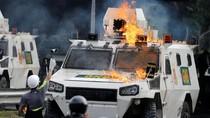 Demo Menuntut Presiden Venezuela Mundur Berujung Ricuh