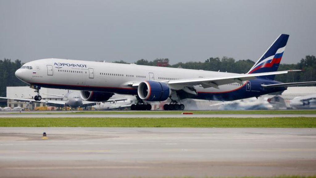 Aeroflot Turbulensi di Langit Cerah, 40 Menit Sebelum Mendarat