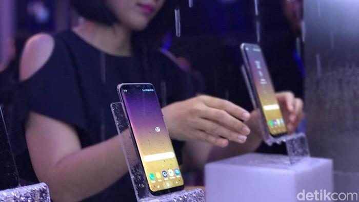 Samsung Galaxy S8. Foto: detikINET/Adi Fida Rahman