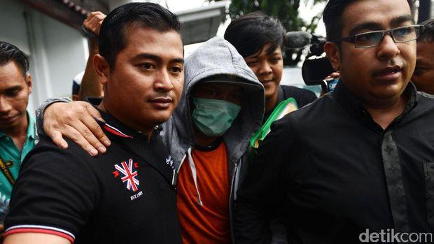 Iwa K saat ditangkap karena narkoba
