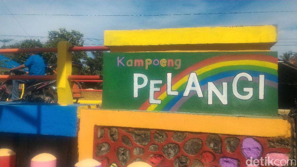 Kampung Pelangi Jadi Destinasi Wisata Baru di Banjarbaru Selatan