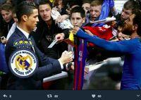 Meme: Messi minta tandatangan Ronaldo di jersey miliknya