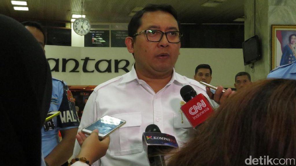 Fadli Zon Setuju Pimpinan MPR Jadi Kesebelasan