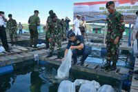 Atase Pertahanan Negara Sahabat Terpukau Emas Biru Kodam Pattimura