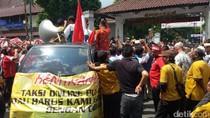 Demo Sopir Taksi Konvensional di Yogya, Sultan: Harus Ada Dialog