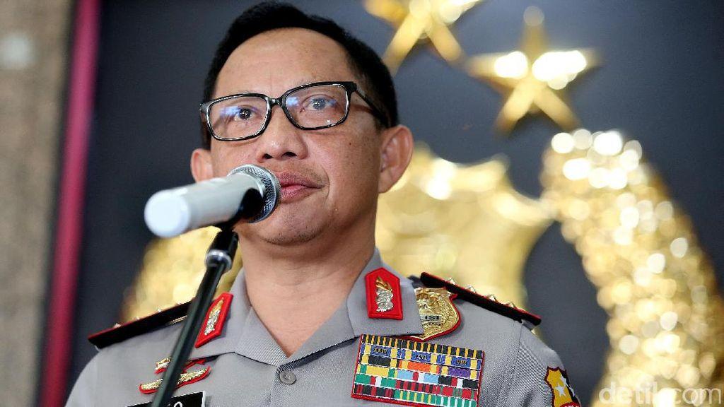 Rapat di DPR, Kapolri Beberkan Proses Hukum Kasus Makar