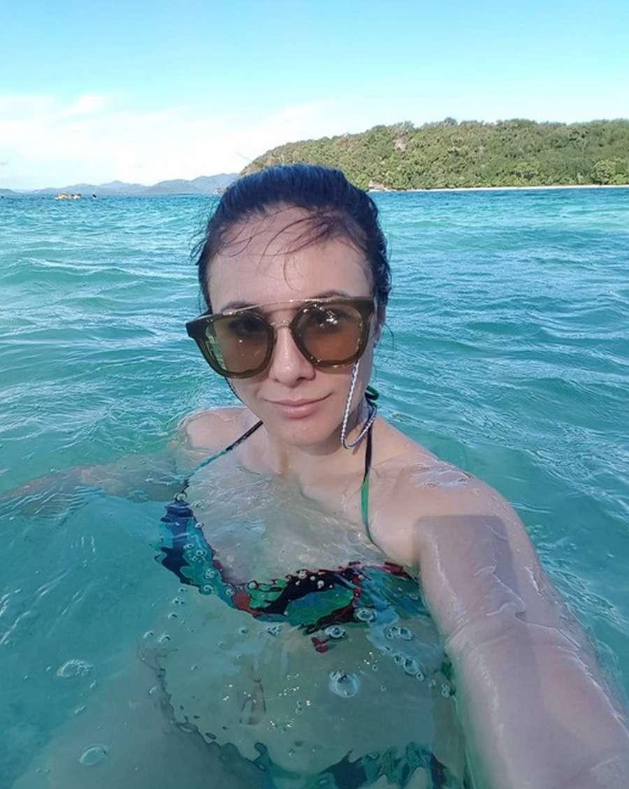 Seksinya Wulan Guritno-Shaloom di Lombok, Raline Shah Cantik Banget