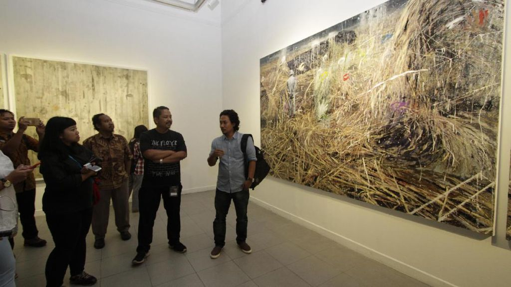 10 Perupa Ramaikan Pameran Wimba Kala di Jakarta