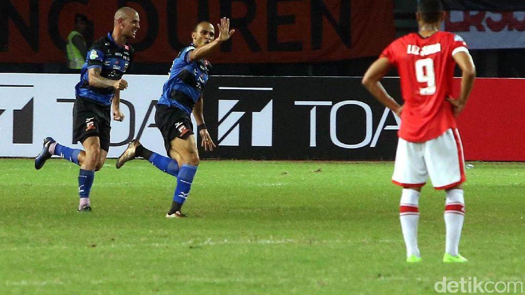 Madura United Kalahkan Persija 1-0