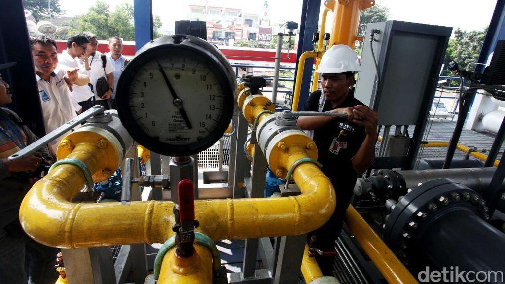 6 Kontrak Jual-Beli Gas Diteken, RI Raup Rp 66 Triliun