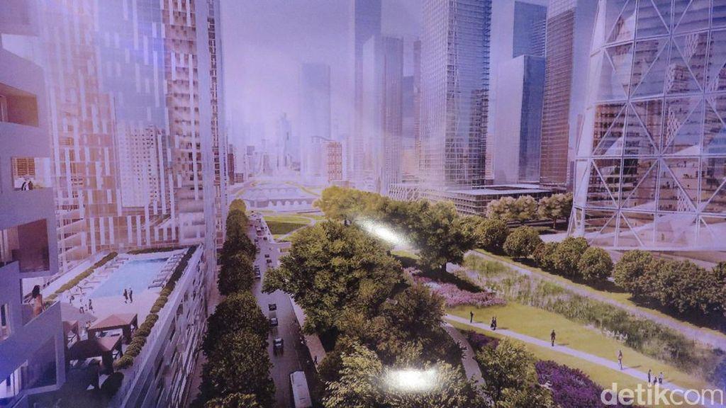 Begini Penampakan Kota Jakarta Baru Rp 278 Triliun Buatan Lippo