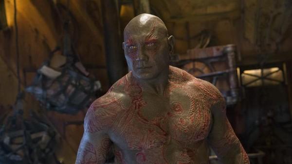 Kata Drax Soal Perannya di Guardians of The Galaxy 2