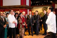 Jokowi bertemu 'Jokowi' (Madame Tussauds/Istimewa)