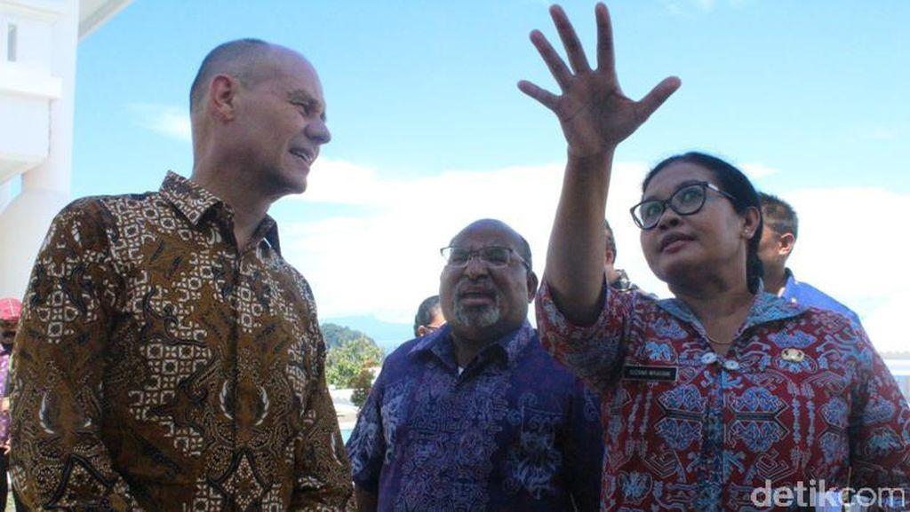 Temui Dubes HAM, Gubernur Papua Tagih Janji Belanda