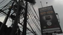 Bukan Cuma di Jakarta, Masalah Kabel Semrawut Juga Ada di Depok