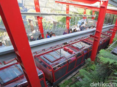 Kereta tambang Scenic Railway (Fitraya/detikTravel)