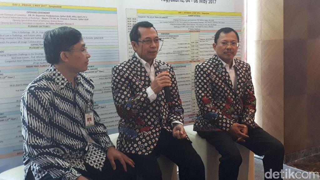 Ratusan Dokter Kumpul di Yogya Bahas Kemajuan Teknologi Radiologi
