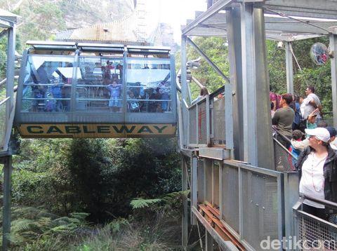 Kereta gantung Scenic Cableway (Fitraya/detikTravel)