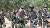 Antisipasi Terorisme, Brimob Polda Sumsel Gelar Latihan Perang