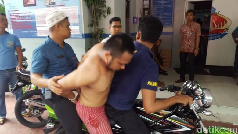 Polisi Tangkap 2 Tahanan Rutan Pekanbaru di Angkutan Umum