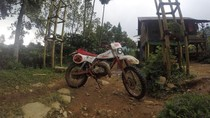 Naik Motor Trail Sendirian ke Desa Cisadon Bogor