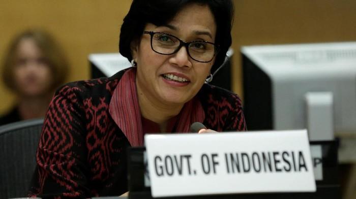 Menteri Keuangan Sri Mulyani. Foto: Reuters