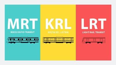 Apa Bedanya LRT, MRT, dan KRL? Ini Jawabannya