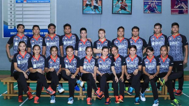 Skuat Indonesia ke Piala Sudirman 2017 di Gold Coast